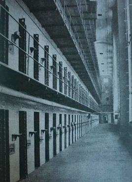 Postcard of the South Wing Cells at the Auburn Prison