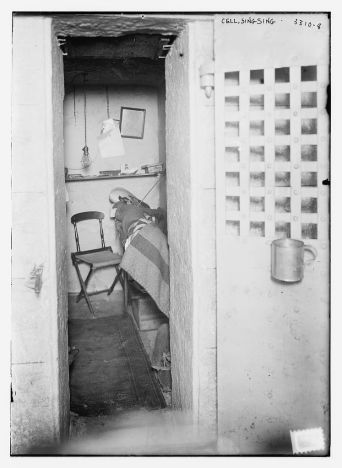 Cell in Sing Sing State Prison, 1910-1915 (Figure 2)