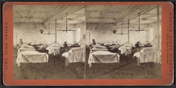 Image of Sing Sing hospital, 1863-1865 (Figure 1)