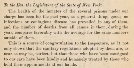 Report published in 1859 regarding the nearly