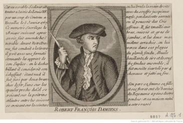 Portrait de Damiens en Buste
