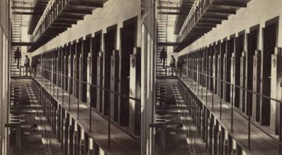 """The Miriam and Ira D. Wallach Division of Art, Prints and Photographs: Photography Collection, The New York Public Library. """"Sing Sing Prison, interior view."""" New York Public Library Digital Collections. Accessed November 30, 2016. http://digitalcollections.nypl.org/items/510d47e1-5e5d-a3d9-e040-e00a18064a99"""