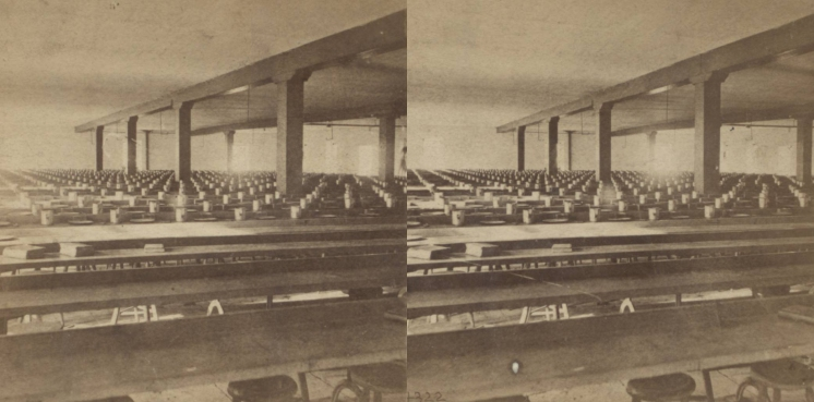 """The Miriam and Ira D. Wallach Division of Art, Prints and Photographs: Photography Collection, The New York Public Library. """"Interior view of Sing Sing."""" New York Public Library Digital Collections. Accessed November 30, 2016. http://digitalcollections.nypl.org/items/510d47e1-5e61-a3d9-e040-e00a18064a99"""