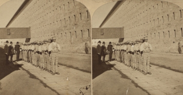 """The Miriam and Ira D. Wallach Division of Art, Prints and Photographs: Photography Collection, The New York Public Library. """"Prisoners going to work, Sing Sing, N.Y."""" New York Public Library Digital Collections. Accessed November 30, 2016. http://digitalcollections.nypl.org/items/510d47e1-5e7c-a3d9-e040-e00a18064a99"""