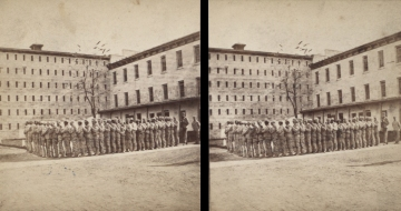 """The Miriam and Ira D. Wallach Division of Art, Prints and Photographs: Photography Collection, The New York Public Library. """"Sing Sing Prison. (Prisoners going to work.)"""" New York Public Library Digital Collections. Accessed November 30, 2016. http://digitalcollections.nypl.org/items/510d47e1-5e90-a3d9-e040-e00a18064a99"""